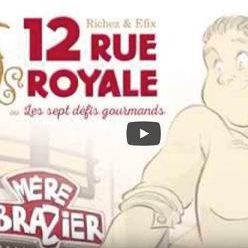 12 rue royale ou les sept défis gourmands – Teaser